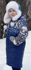 Пальто для девочки - Ателье на Сибирской
