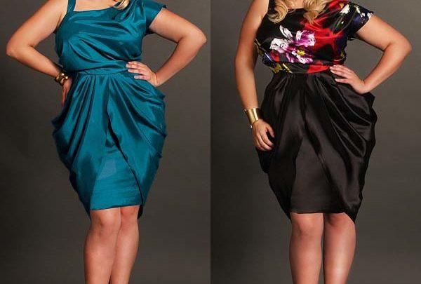 Пошив платьев для полных женщин.