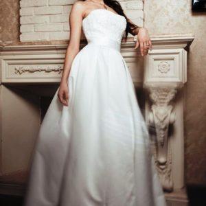 Простые свадебные платья