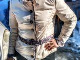 Оригинальная куртка из плащевой ткани